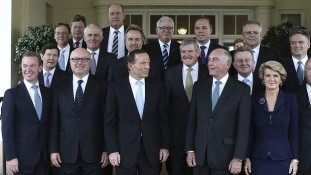 Australian Government Ministers - with gender balance